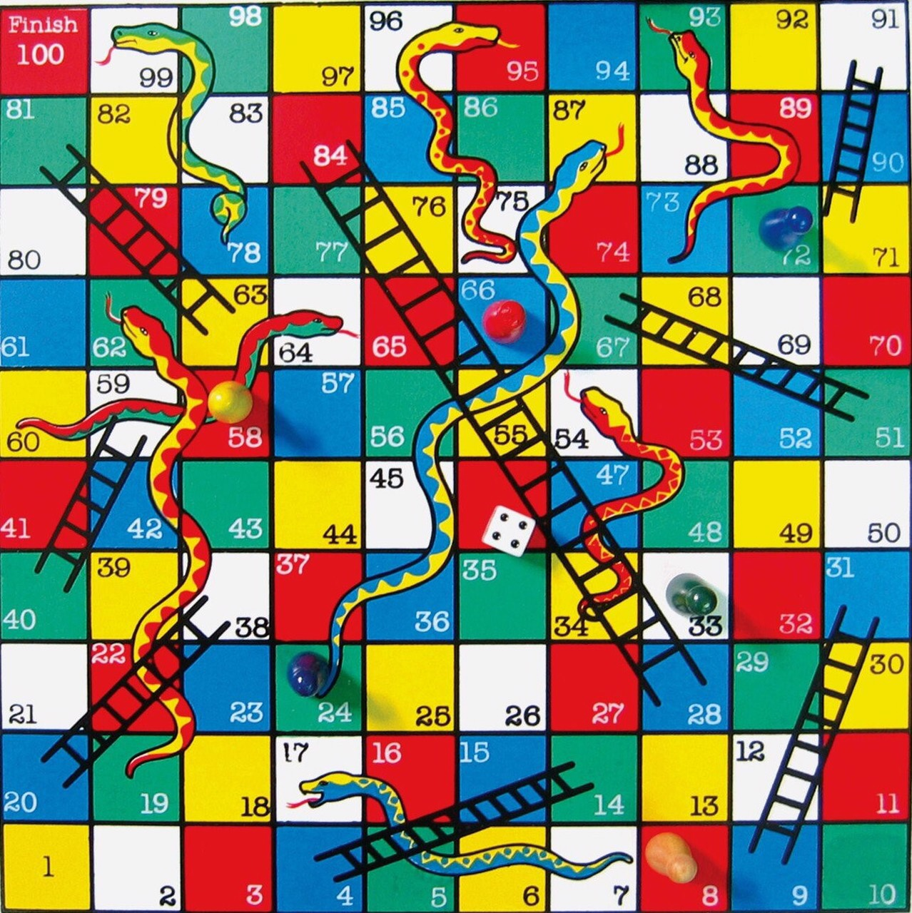 Zanzaap for Snakes and ladders template pdf